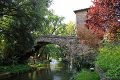 Medieval bridge of St. Francis Stock Photography