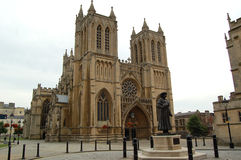 Medieval Bristol Cathedral Building Royalty Free Stock Photo
