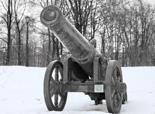 Medieval bronze cannon Stock Photography
