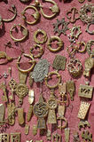 Medieval brooches and pendants Royalty Free Stock Photos