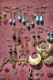 Medieval brooches and pendants Royalty Free Stock Image
