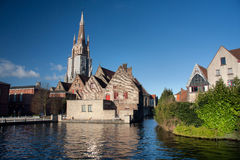 Medieval Bruges Royalty Free Stock Photography