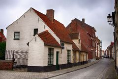 Medieval Bruges Stock Photo