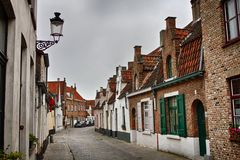 Medieval Bruges Royalty Free Stock Photo