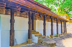 The medieval Buddhist Temple Royalty Free Stock Image