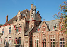 Medieval building. Beautiful medieval building from Brugge - Belgium Royalty Free Stock Photo