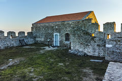 Medieval Building in fortress of Kavala, Greece Royalty Free Stock Image