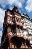 Medieval building. Frankfurt. Germany. Royalty Free Stock Photo