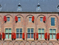 Medieval building in Middelburg Royalty Free Stock Image