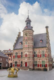 Medieval building of museum het Petershuis in Gennep. The Netherlands Royalty Free Stock Images