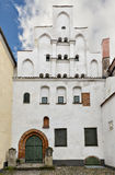 Medieval building in old Riga city, Latvia Royalty Free Stock Image