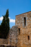 Medieval building and ruins Stock Image