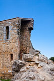 Medieval building and ruins Royalty Free Stock Images