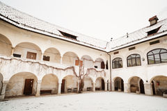 Medieval building. Skofja Loka, Slovenia. Stock Photo