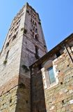 Tower of Lucca. Medieval building in the town-center Royalty Free Stock Photos