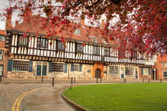 Medieval building, York. Royalty Free Stock Photos