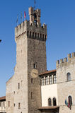 Medieval buildings in Arezzo (Tuscany) Stock Photography