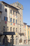 Medieval buildings in Arezzo (Tuscany, Italy) Royalty Free Stock Image