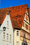 Medieval buildings Bavaria Stock Images