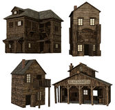 Medieval buildings Royalty Free Stock Photos
