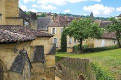Medieval buildings in Sarlat-la-Caneda; Dordogne; France Royalty Free Stock Image