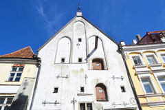 Medieval buildings in Tallinn. Royalty Free Stock Image