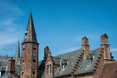 Medieval buildings Stock Photography