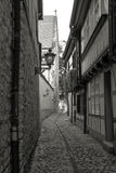 Medieval bystreet Royalty Free Stock Image