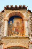 Medieval byzantine fortress of Mystras (UNESCO World heritage), Stock Image