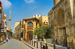 The medieval Cairo Stock Images