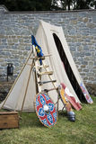 Medieval Camp Royalty Free Stock Images