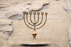 Medieval candleholder Stock Images