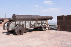 Medieval cannon Stock Image