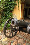 Medieval cannon Royalty Free Stock Photo