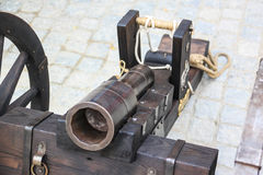 Medieval cannon. Stock Image