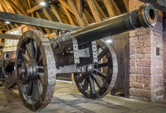 Medieval cannon Royalty Free Stock Image