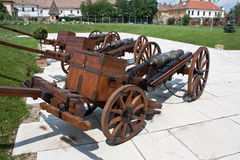 Medieval cannons Stock Photography