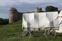 Medieval cart Stock Images
