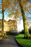 Medieval Castle. Skipton Castle (Yorkshire, Great Britain) during autumn Royalty Free Stock Photo