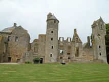 Medieval Castle. Ruins of a medieval Gratot  castle in Normandy, France Stock Images