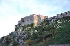 Medieval castle. View medieval castle in marineo, palermo - sicily Royalty Free Stock Photos