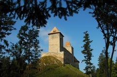 Medieval castle. Kasperk in Czech Stock Photos