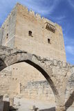 Medieval castle. In Kolossi, Cyprus royalty free stock photography