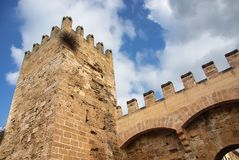 Medieval Castle Stock Image