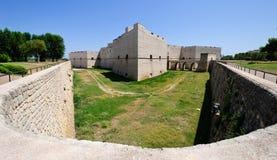 Medieval Castle. In Barletta - Apulia, Italy Stock Photos