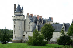 Medieval castle. Medieval castle in the south west of France in the Loire Valley Royalty Free Stock Photography
