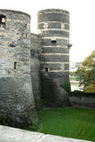 Medieval castle. Medieval castle in the south west of France in the Loire Valley Royalty Free Stock Photo