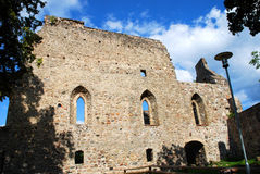Medieval Castle. In Sigulda , Latvia, Europe Royalty Free Stock Photography