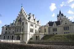 Medieval castle. Old castle Stock Photography
