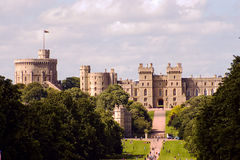 Medieval castle. The medieval castle in united Kingdom Royalty Free Stock Image